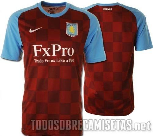 e9f4a86a0 Aston Villa and Newcastle United 2011-12 Kit Special